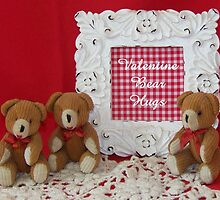 Valentine Bear Hugs by © Betty E Duncan ~ Blue Mountain Blessings Photography