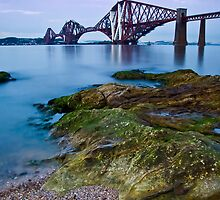 Forth Rail Bridge by Claire Tennant