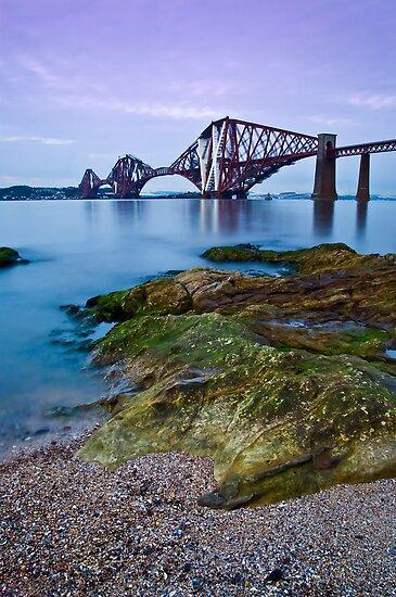 Forth Rail Bridge by Claire Tennant