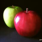 Red and Green Apples 3 by Christopher Johnson