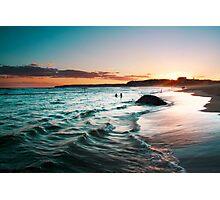 sunset colours Photographic Print