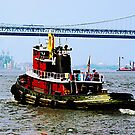 Tugboat at Penn's Landing, PA by Susan Savad