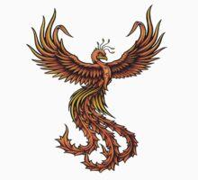 Phoenix Bird by Mickie