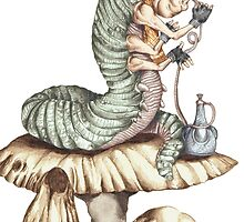Alice Caterpillar by ZugArt