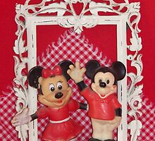 Framed Mickey & Minnie   by © Betty E Duncan ~ Blue Mountain Blessings Photography
