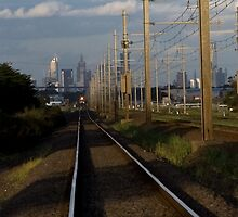 NR 75 with the Melbourne skyline (crop) by MDC DiGi PiCS