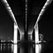 Bridges At Night (B&W)