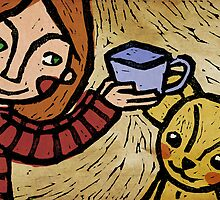 Want more tea? by Ine Spee