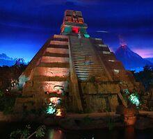 Epcot Center inside Mexico Pavillion by bmwlego
