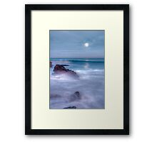 Bennion Beach Dawn Framed Print