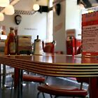 An American Diner In London by Erin Mason