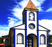 Curch in Cartago by Guy Tschiderer