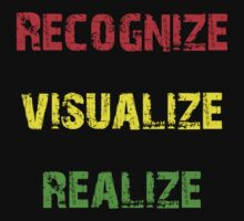 Recognize, Visualize, Realize by geekmorris