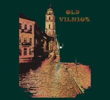 OLD VILNIUS T-Shirts by Antanas T-Shirts