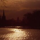 The Avon at Stratford-Upon_Avon - dusk by LowLightImages