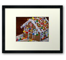 House for the Sweet Tooth Framed Print