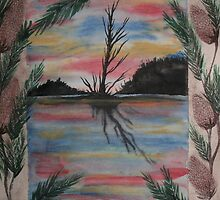 Pine Cone Island by linmarie