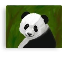 Precocious Panda Canvas Print