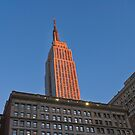 Empire State Building Sunset by Erwin G. Kotzab