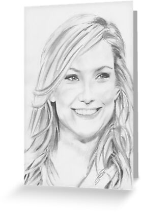 a kate hudson drawing by ralphyboy