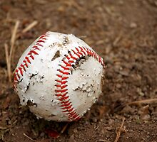 old baseball by Henrik Lehnerer
