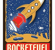 Rocketfuelcoffee.com Logo  by Lisa Rotenberg