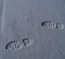 Footprints. by John  Smith