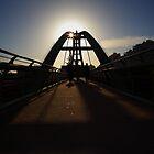 Poleg Bridge by kerendanieli