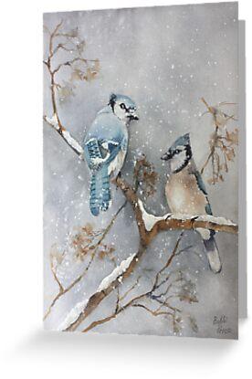 A Pair of Jays by Bobbi Price