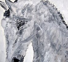 (Journey) Acrylic Painting Horse Art by kmcdonough2