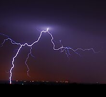 January Lightning by Dennis Jones - CameraView