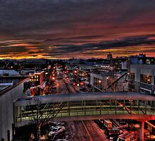 Early Morning Salem Oregon by pdsfotoart