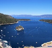 Blue Emerald Bay by NancyC