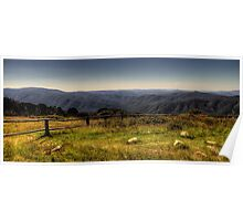 It well might make the boldest hold their breath -  View From Craigs Hut Mount Sterling - The HDR Experience Poster