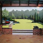 Conservatory mural by Bogus