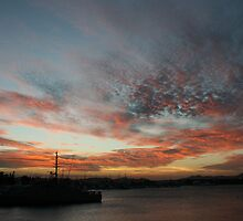 Habour Sunset by A1000WORDS