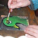 Green Bird's Birth by ArtLacoque