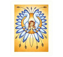 Virgo - spread your wings, fly the skies! Art Print