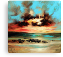 Barra Shore Canvas Print