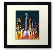 SURFERS PARADISE CITY Framed Print