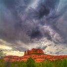 Cathedral Rock Vortex by njordphoto