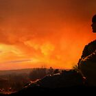 The Burning Sunset of York by fizzyart