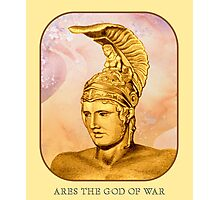 Ares The God Of War Photographic Print