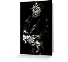 Soldier Of The Underworld ~ 2 Greeting Card