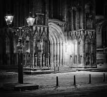Minster by gas light by clickinhistory