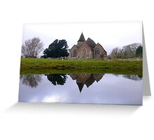 St Clements Greeting Card