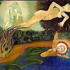 Daphne and Apollo by Davol White