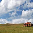 Pioneer Farmhouse Panorama, Burra, South Australia by Adrian Paul