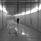 man in subway by fanis logothetis