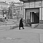 man walking to the station by fanis logothetis